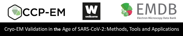 https://www.ccpem.ac.uk/training/validation_symposium_2020/Cryo-EM_Validation_in_the_Age_of_SARS-CoV-2.php